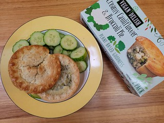 Cauliflower and Broccoli Pie