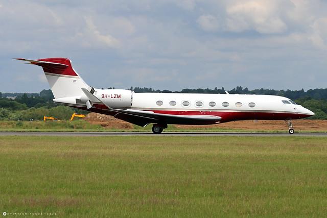 9H-LZM  -  Gulfstream G650  -  TAG Aviation (Malta)  -  LTN/EGGW 11/7/21
