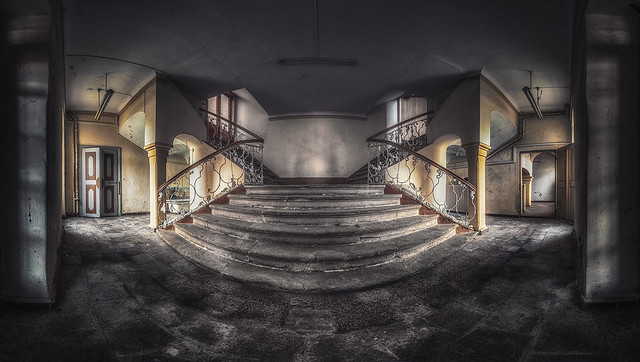 forgotten staircase - where knights lived