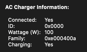 Apple MacBook Pro 15.4 Inches - Charging