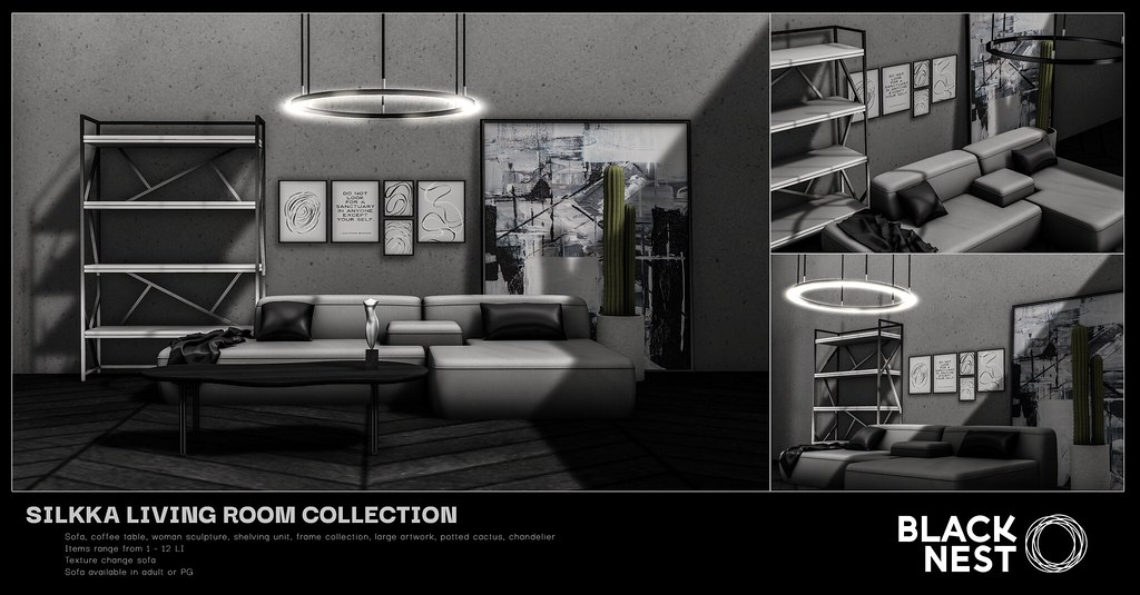 BLACK NEST | Silkka Living Room Collection | ACCESS