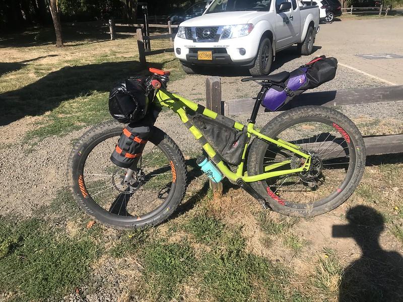 Bikepacking overnight