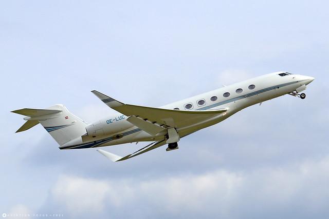 OE-LUC  -  Gulfstream G650  -  Global Jet Concept  -  LTN/EGGW 11/7/21