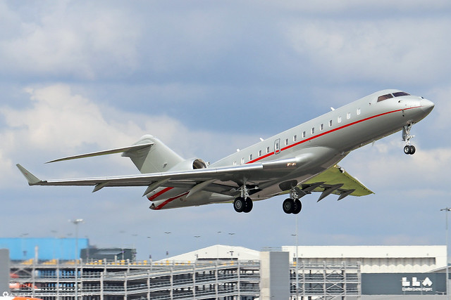 9H-VJZ  -  Bombardier Global 6000  -  Vista Jet  -  LTN/EGGW 11/7/21