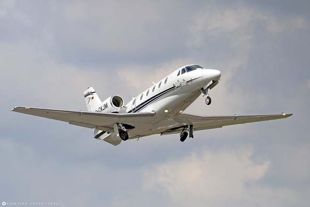 D-CKJM  -  Cessna 560XL Citation XLS+ 560-6277  -  LTN/EGGW 11/7/21