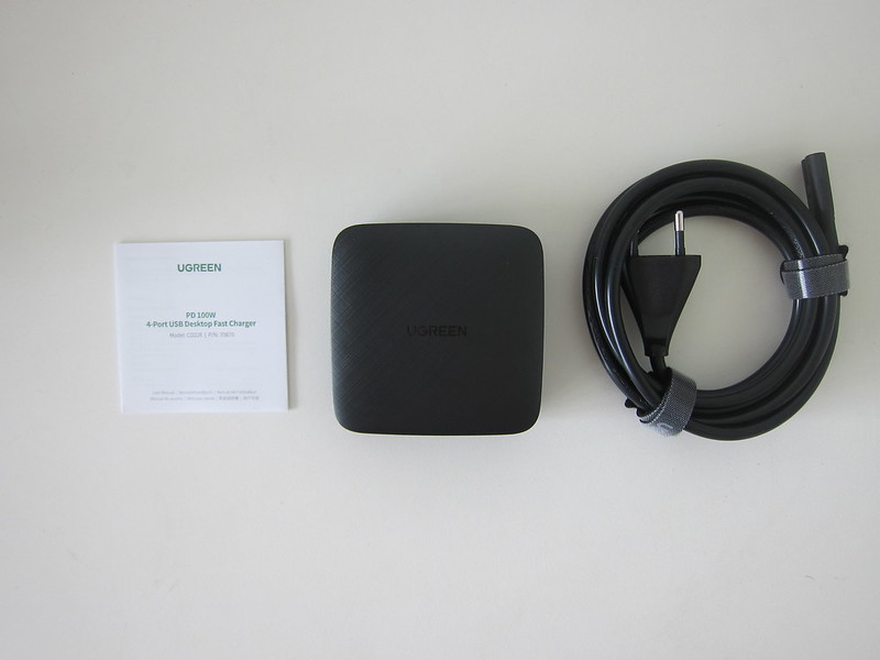 Ugreen 4-Port PD 100W Charger - Box Contents