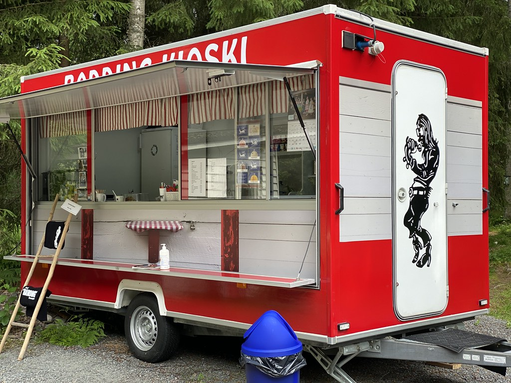 Somero - Baddingin kioski Paratiisi
