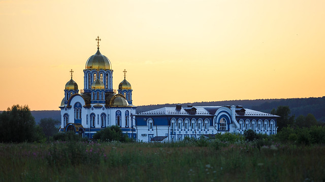 Temple of the Kazan icon of the Mother of God