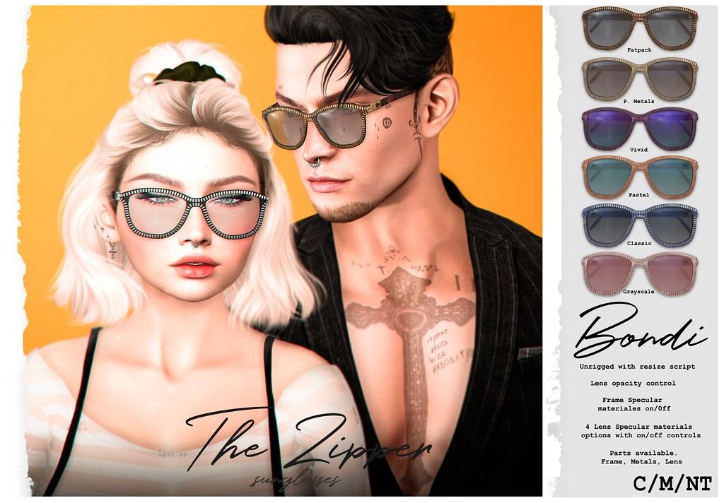 BONDI . The Zipper Sunglasses @Access