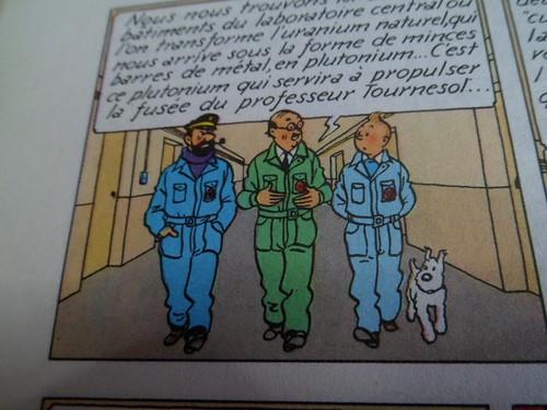 """Pas-à-pas : Vignette inspirée de l'album de  Tintin """"Objectif Lune"""" 51304810114_1f833db781"""