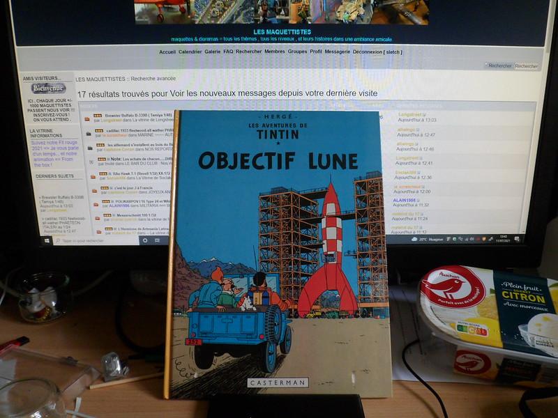 """Pas-à-pas : Vignette inspirée de l'album de  Tintin """"Objectif Lune"""" 51304810219_6bbd09951e_c"""