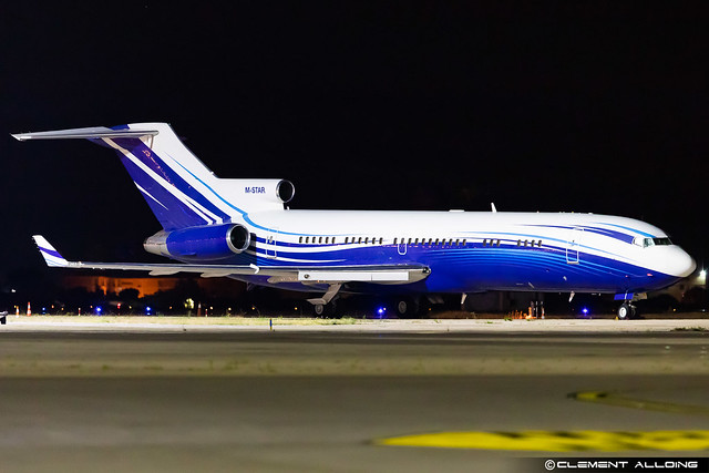 Starling Aviation Boeing 727-2X8(A)(RE)(WL) cn 22687 / 1784 M-STAR