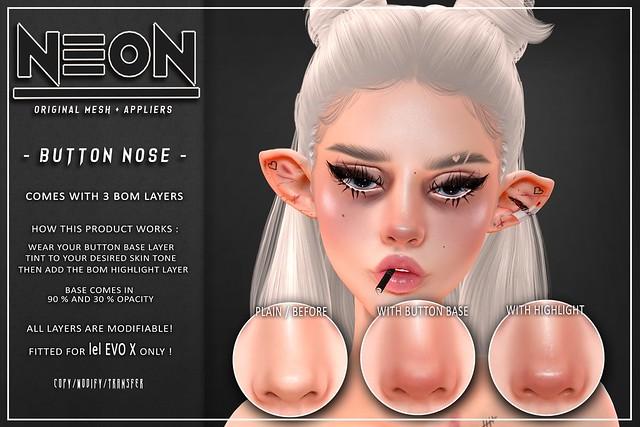 NEON - BUTTON NOSE - EVO X