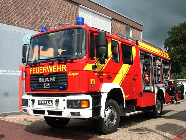 MAN fire truck