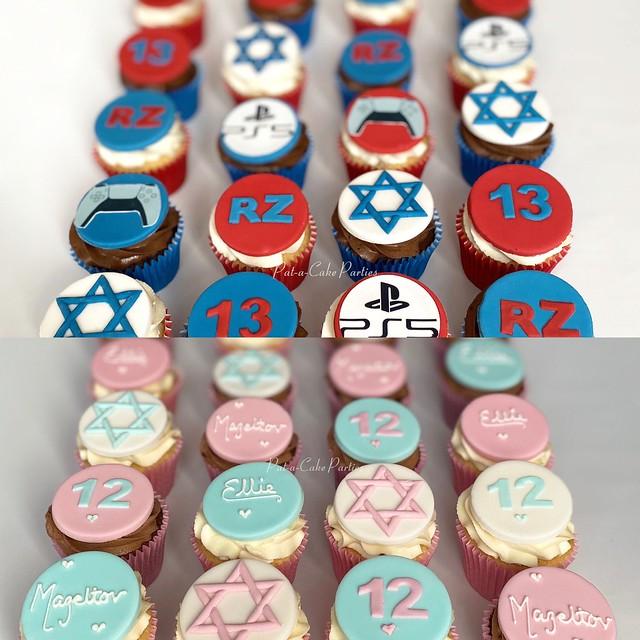 Bar Mitzvah / Bat Mitzvah Cupcakes