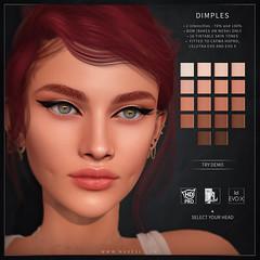 Dimples (BOM) - Catwa HDPRO/Lelutka Evo/Lelutka Evo X