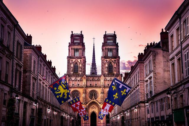 Cathédrale Ste -Croix  d'Orléans                                                        -on explore -12-07-21-
