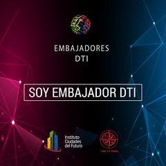 Logo Embajadores DTI
