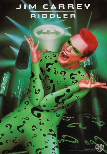 Jim Carrey in Batman Forever (1995)
