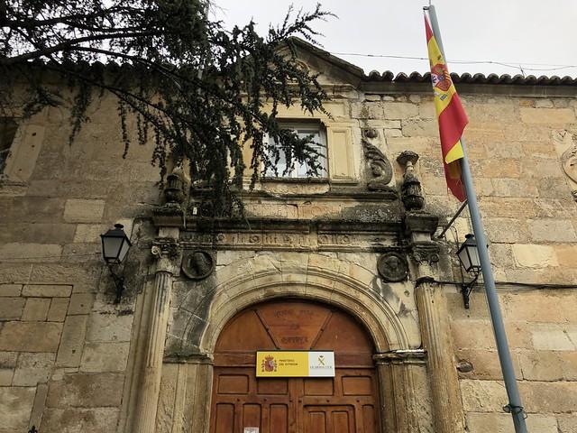 Fachada principal del Palacio Salinas (Torrelaguna, Madrid)