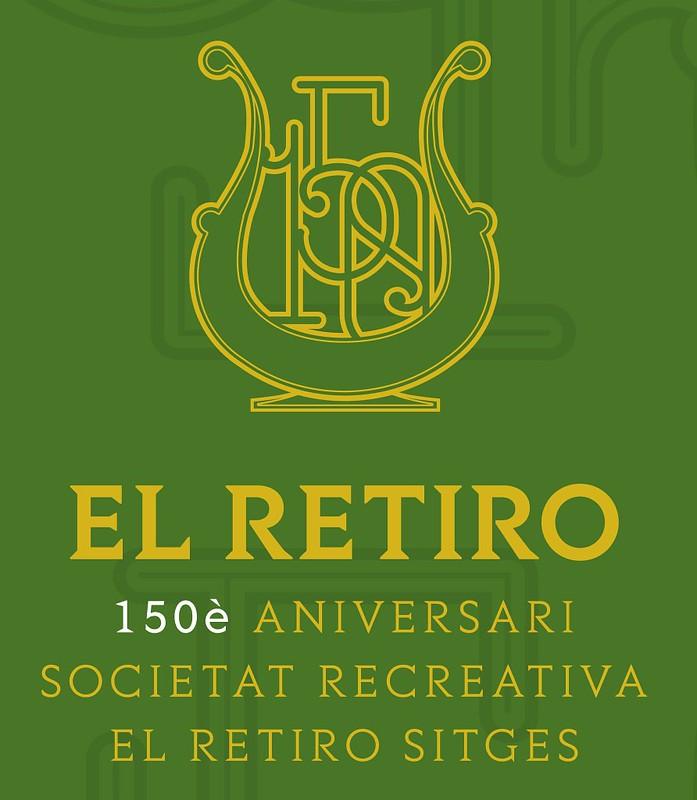 Presentación del libro 'El Retiro. 150 anys de vida sitgetana. 1870-2020', los autores Jordi Fusté y Roland Sierra