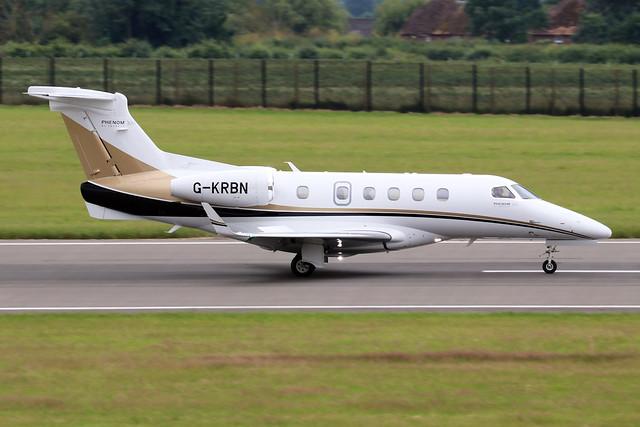 G-KRBN  -  Embraer EMB-505 Phenom 300 c/n 50500358  -  LTN/EGGW 11/7/21