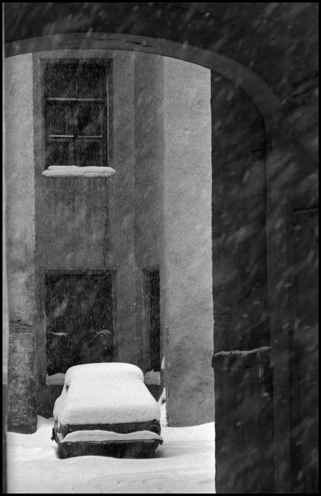 1970-е. Зимний дворик