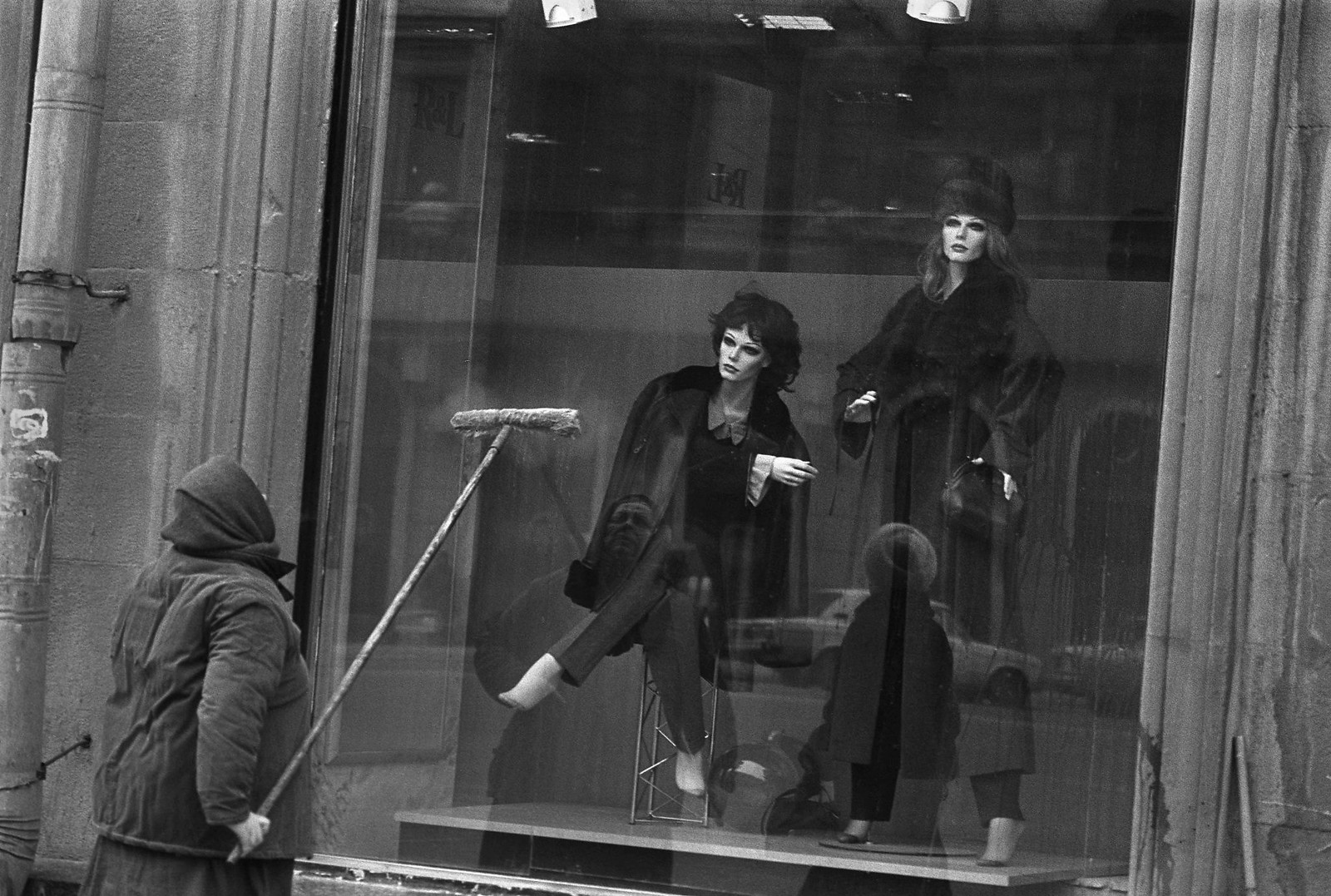 1960-е. Шубы и телогрейки