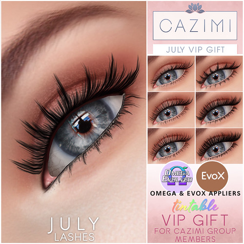 July VIP Lashes