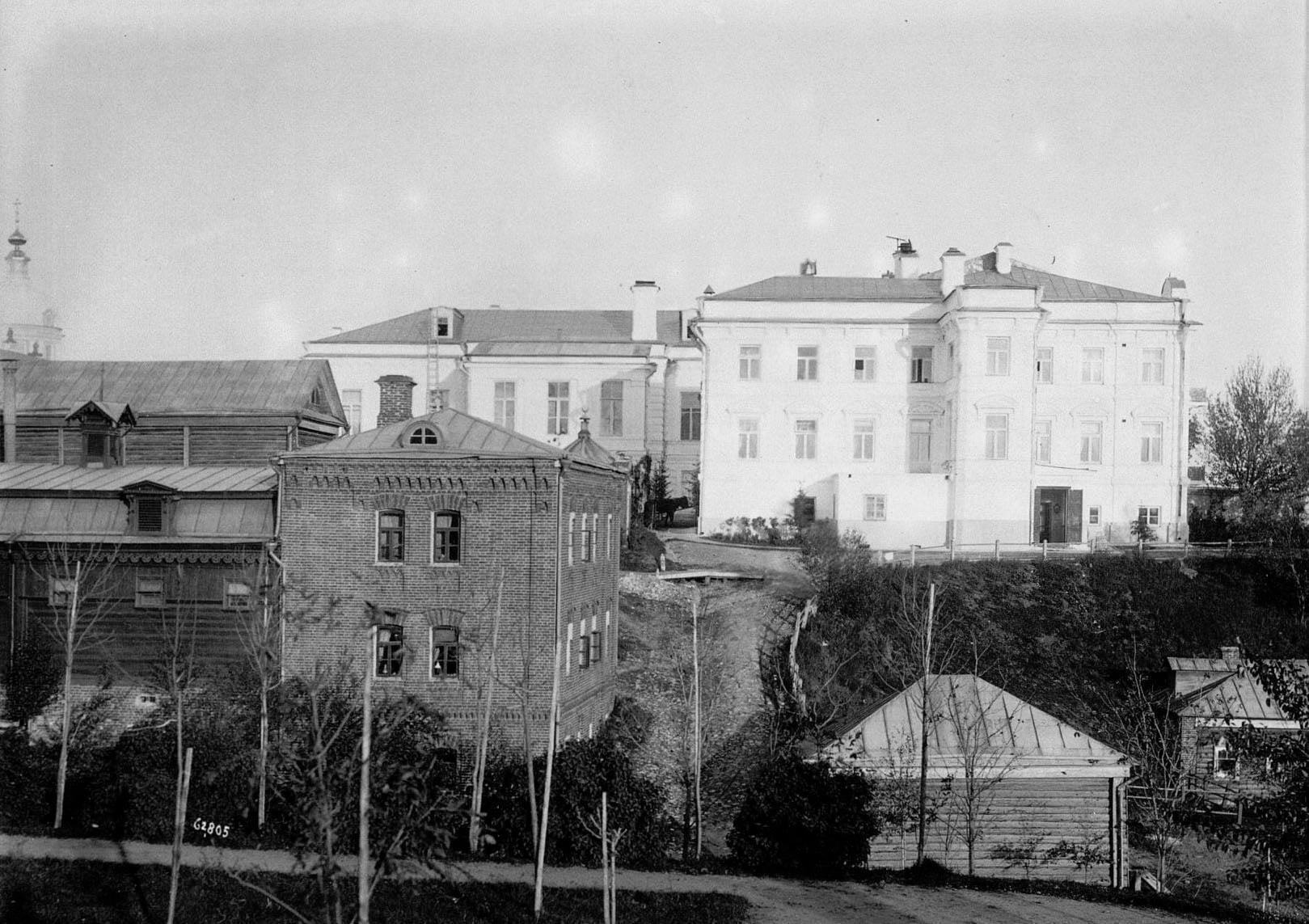 Вид дома фабрикантов Прохоровых, в котором жили три поколения.