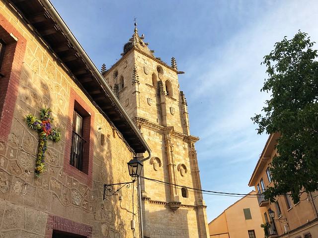 Campanario de la iglesia de Torrelaguna