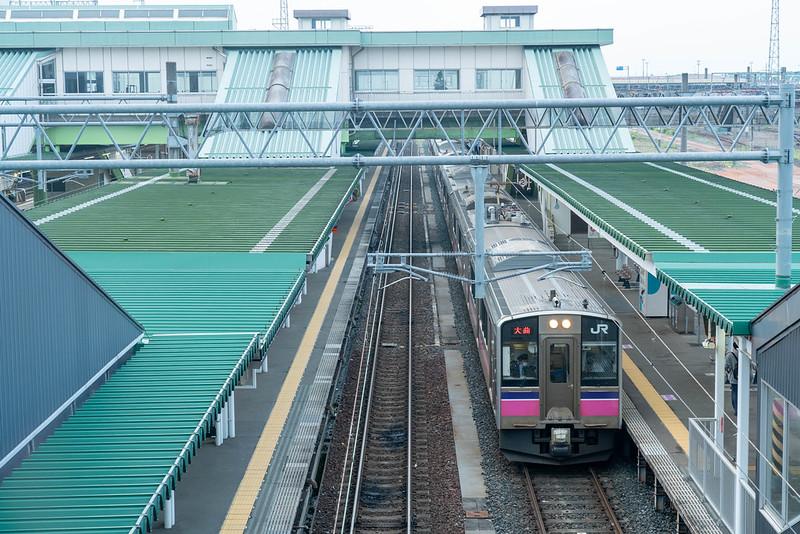 盛岡駅 田沢湖線 大曲行き