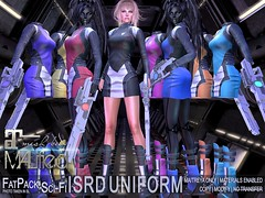 MALified - Sci-Fi ISRD (Intergalactic Space Research Division) Uniforms - FatPack