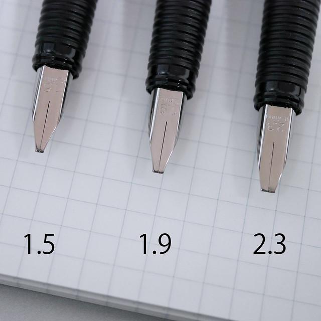 ロットリング アートペン カリグラフィ