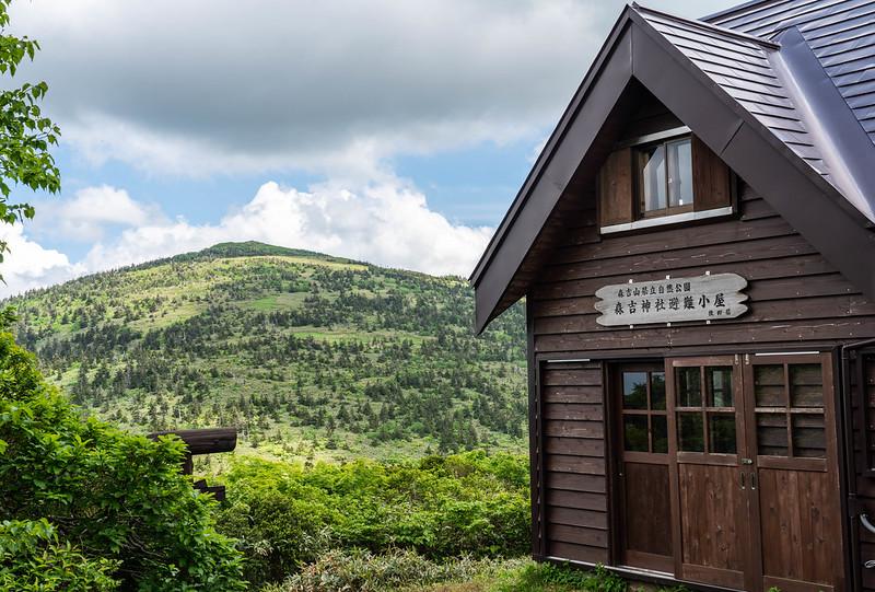 森吉神社避難小屋