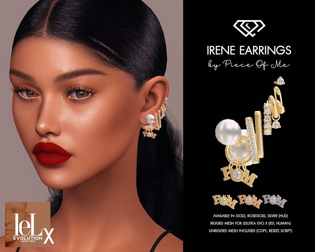 Irene Earrings @ Access Event – July 12th