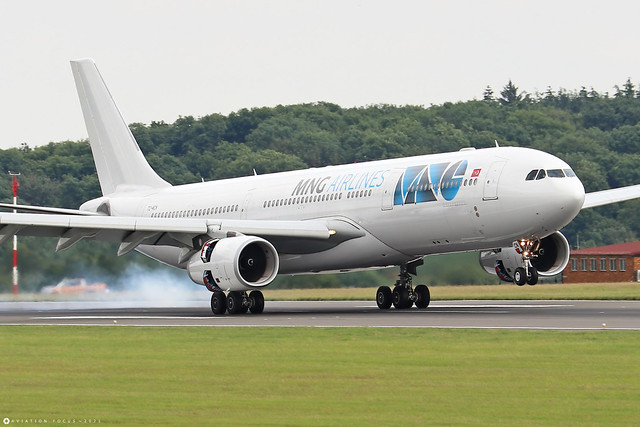 TC-MCN  -  Airbus A330-343  -  MNG Airlines  -  LTN/EGGW 11/7/21