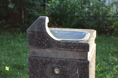 Public water fountain in Rouleauville