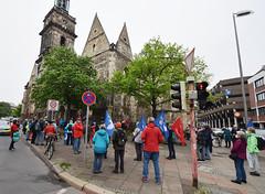 12.05.2021: Auftakt der NaturFreunde-Friedenswanderung in Hannover