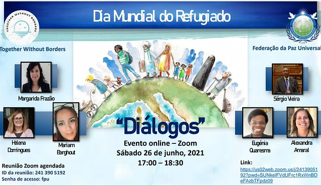 Portugal-2021-06-26-World Refugee Day Observed in Portugal