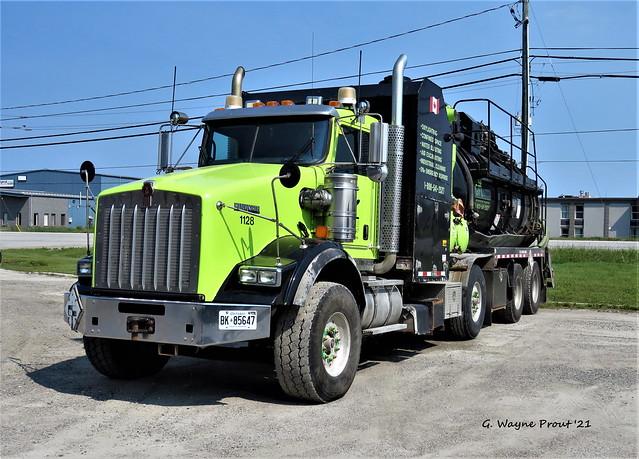 Kenworth T800 Hydro Vacuum Truck GFL Unit 1128