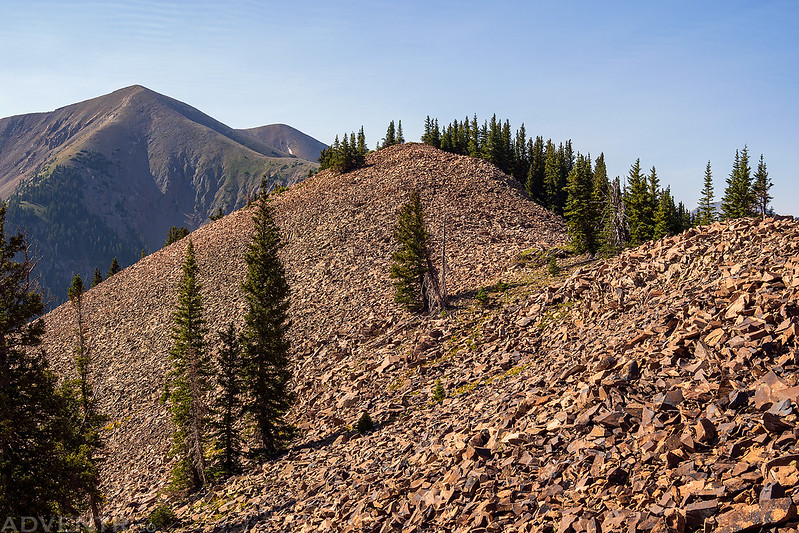 Back Over Horse Mountain