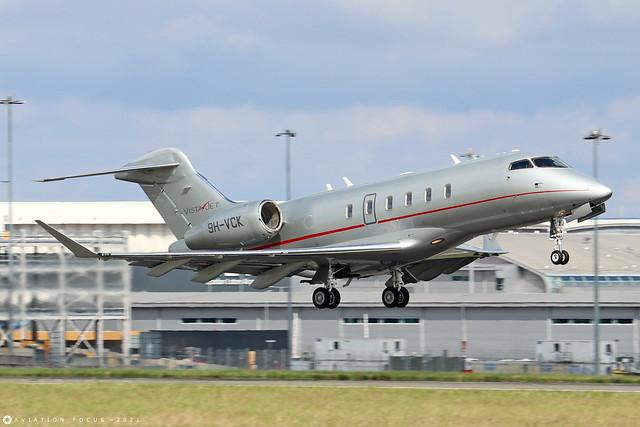 9H-VCK  -  Bombardier Challenger 350  -  Vista Jet  -  LTN/EGGW 11/7/21
