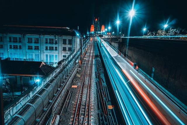 Night time train