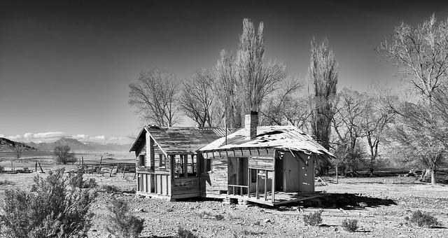 Abandoned Ranch at Blue Eagle Spring