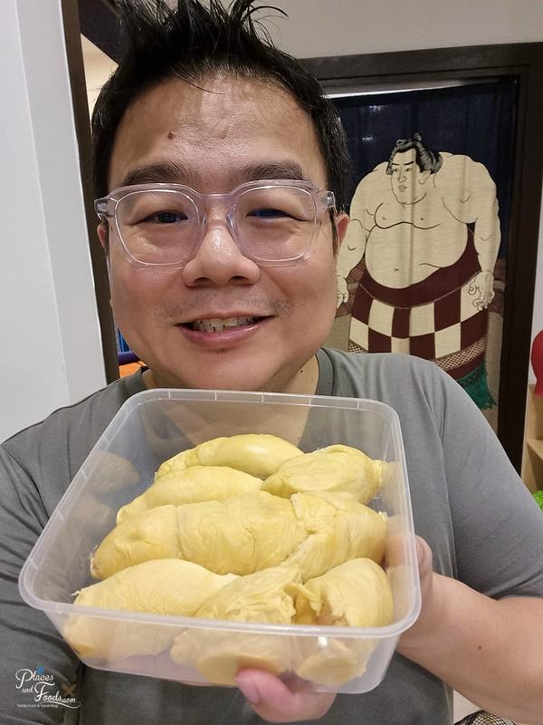 restoran sri karak musang king durian