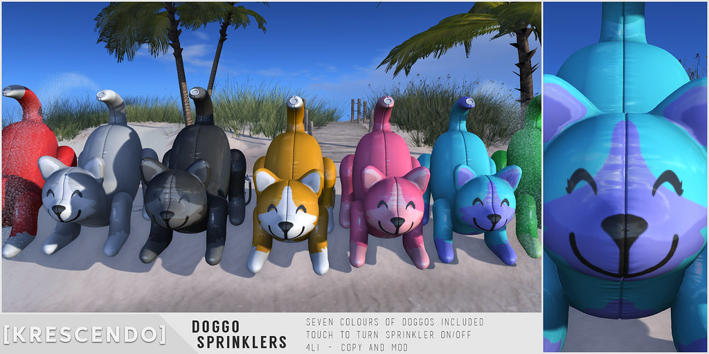 [Kres] Doggo Sprinklers