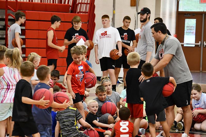 Scott High Basketball Skills Camp 2021