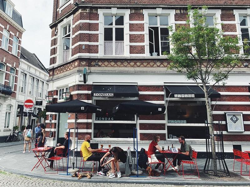 Maastricht kahvila Zontag