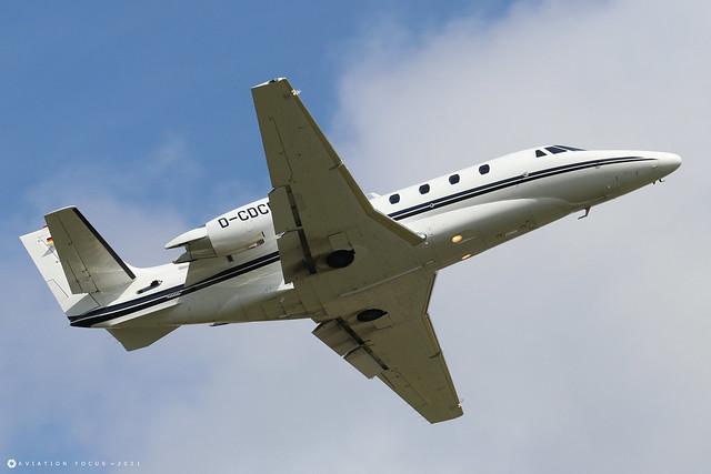 D-CDCM  -  Cessna 560XL Citation XLS+ 560-6109  -  LTN/EGGW 11/7/21